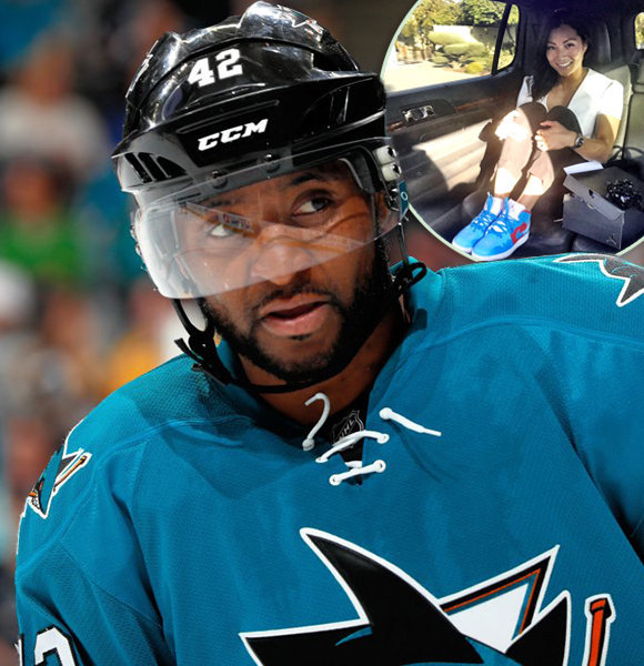 Joel Ward All Set To Get Married; Asked Girlfriend To Be Wife In Fashion – Literally!