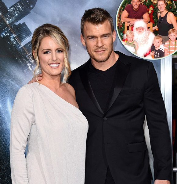 Gay Rumors That Float About The Family Man With Wife Alan Ritchson