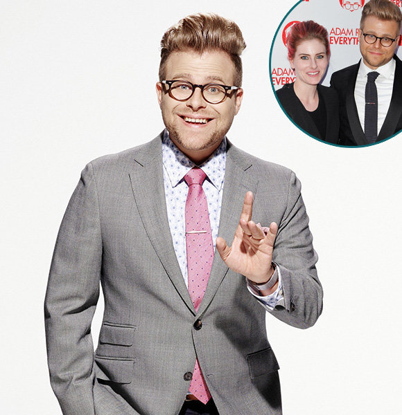 Meet Adam Conover Longtime 'Producer' Girlfriend, Wife To Be? | Gay Talks