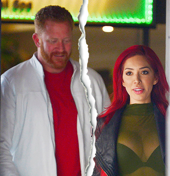 Aden Stay, 40, Splits With Farrah Abraham,26! Week-Long Relationship Ends