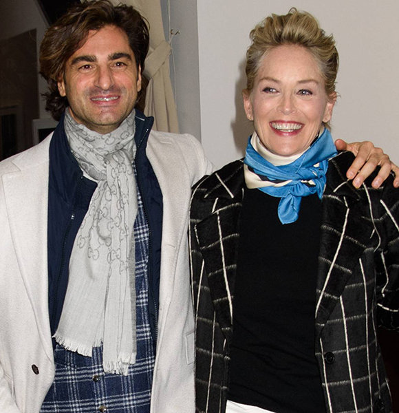 Angelo Boffa, 41, And Sharon Stone, 60, Engaged Or Just Rumors? Flaunts Relationship