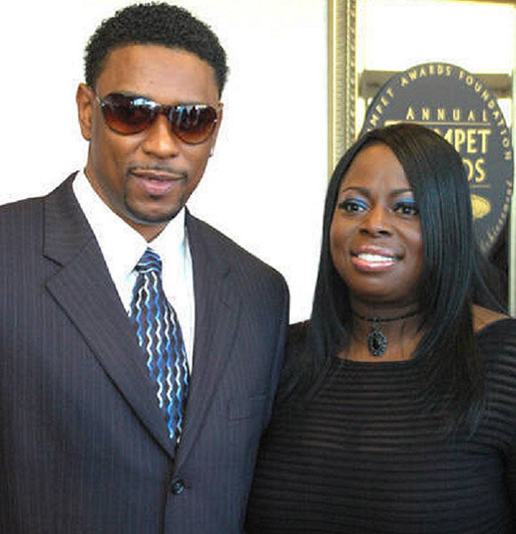 Producer Angie Stone With Husband In Past Reflects Son & Daughter Differences