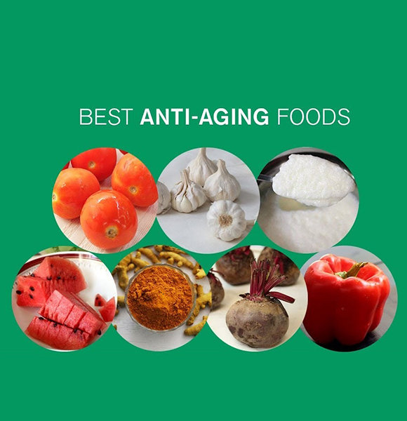 Anti-Aging Foods List and Its Benefits In Detail