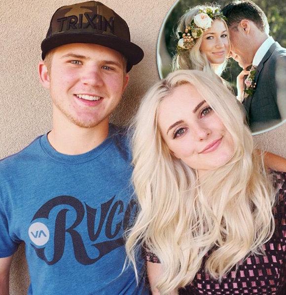 Aspyn Ovard, 21, And Husband Are Goals! Shares Stunning Wedding Ceremony