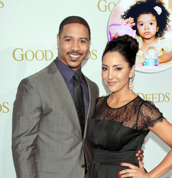 Brian White And Wife Pampering Adorable Daughter; Married Life Done Right!