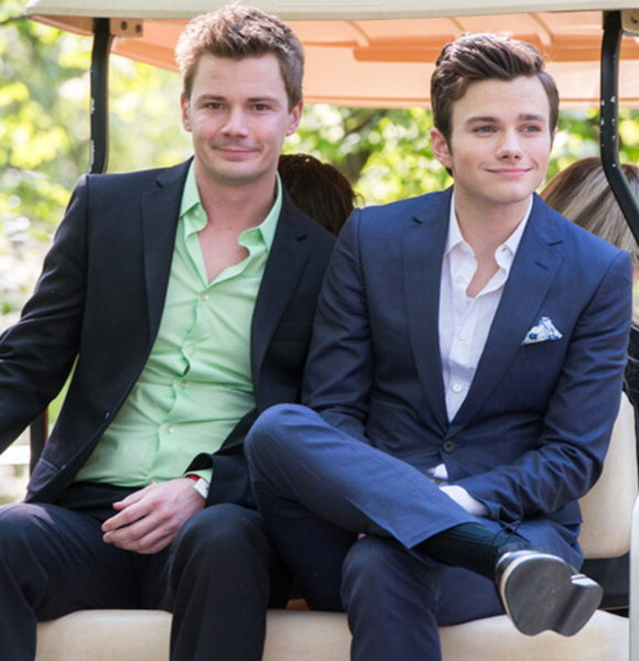 Openly Gay Chris Colfer Is In A Relationship! Boyfriend Is An Actor