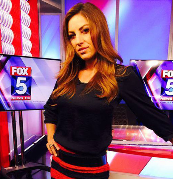 Fox 5 Chrissy Russo Family Insight With Husband Who Met Her Wearing This