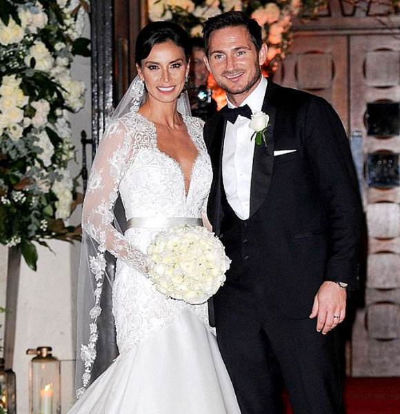 Christine Lampard Is Pregnant! First Baby With Husband Frank Lampard