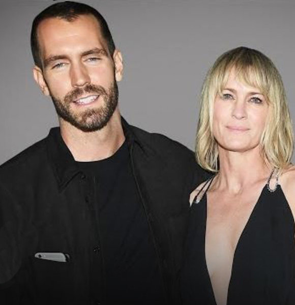 Clement Giraudet Private Wedding, Robin Wright Married Young Age Beau In France!