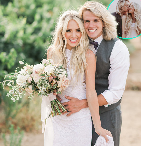 """""""Viner"""" Cole LaBrant Age 21 Gushes On Perfect Wedding Day, Wife & Young Daughter"""