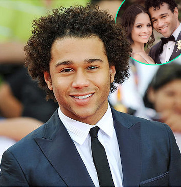 gay Corbin bleu