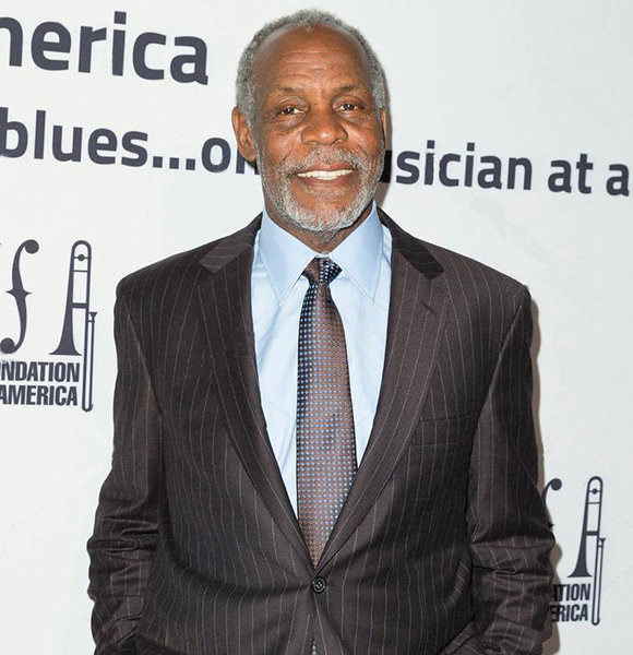 Danny Glover, From One Wife To Other; Children At Age 72