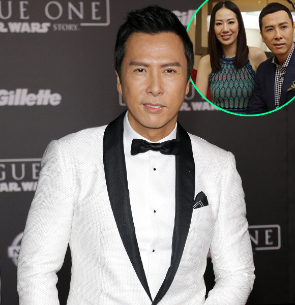 On-Screen Martial Arts Legend Donnie Yen Tips On Happy Wife & Family; Listen To Expert