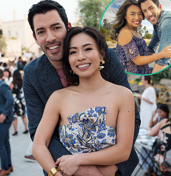 Drew Scott Married To Linda Phan Magical Irish Wedding With Stunning Wife