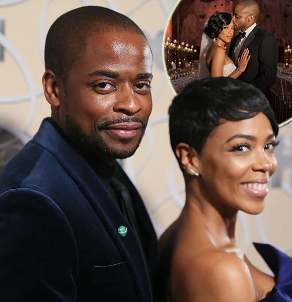 Dulé Hill Is Married! Exchanged Wedding Vows With Girlfriend Jazmyn Simon