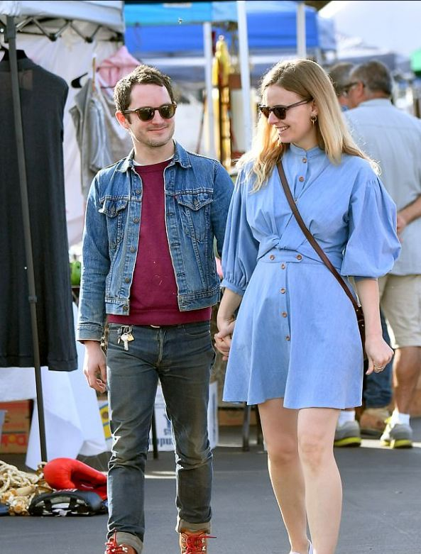The Hobbit S Star Elijah Wood No News About His Girlfriend And Wife After Split With His Ex