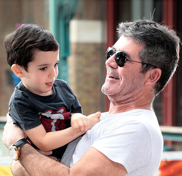 Eric Cowell Chemistry With Father Is Adorable; Meet The Next Simon Cowell