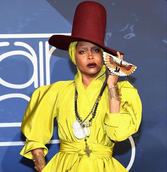 Erykah Badu Multiple Kids & Different Baby Father; Who Are They, Dating Now?
