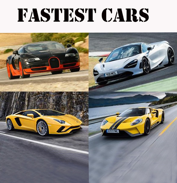 List Of Top 20 Fastest Cars In The World