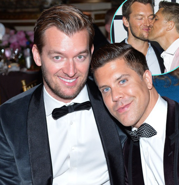 Fredrik Eklund & Husband, Perfect Gay Couple! First Vacation For Twins