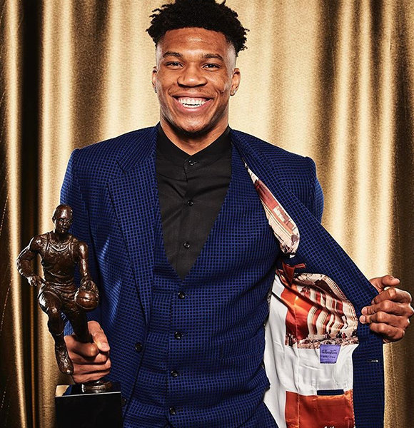 Bucks' Giannis Antetokounmpo Welcomes Son 'Father For The First Time'