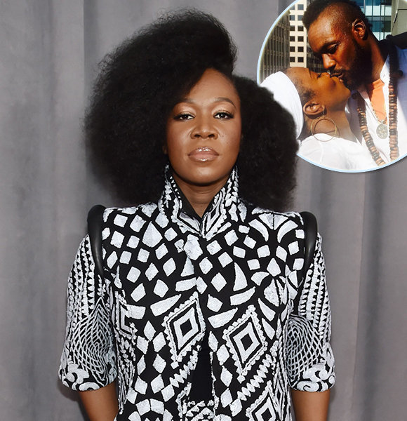 India Arie Blooming With Husband-Like Figure; Soon To-Be Family?