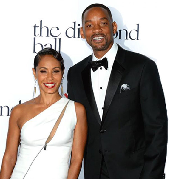 """Jada Pinkett Smith Shows """"Will"""" On Married Life & Husband As Serious Oath Takes Place"""