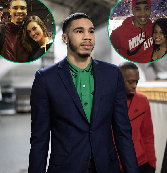 NBA's Jayson Tatum 'Double Trouble' Girlfriend, Dating Two At A Time!
