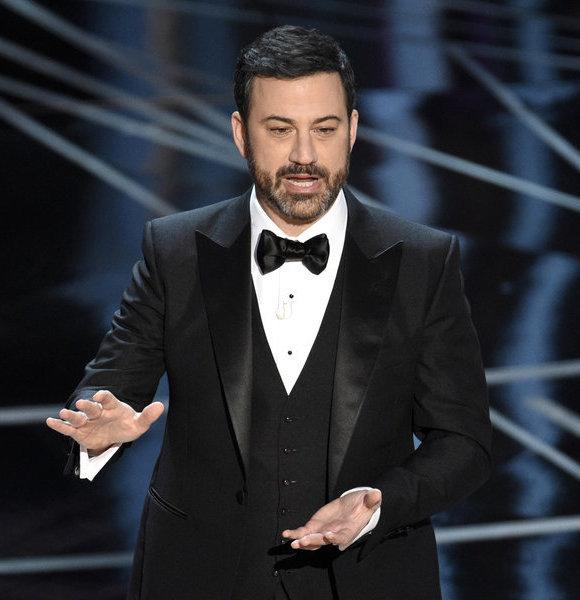 Jimmy Kimmel For Oscars 2018;  Glances At 2017 Blunder