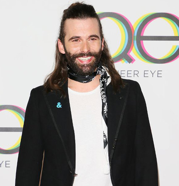 jonathan van ness only man without boyfriend or husband in queer eye. Black Bedroom Furniture Sets. Home Design Ideas
