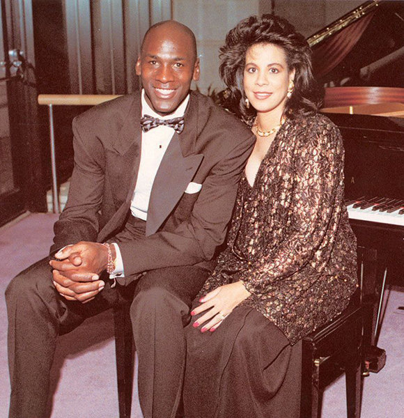 reputable site 495f3 2859a Juanita Vanoy Bio Shows Massive Net Worth After Divorce With Husband Michael  Jordan