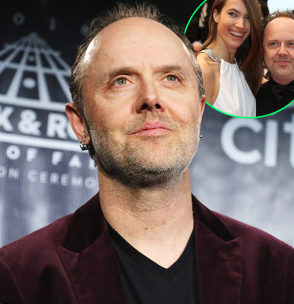 """Lars Ulrich Contrasts From Stage Acts As Family Man With Wife & Kids, A """"Romantic"""""""