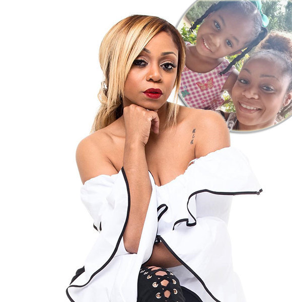 LaTavia Roberson Relishing Days With Cutest Daughter; But Who's The Baby Daddy?