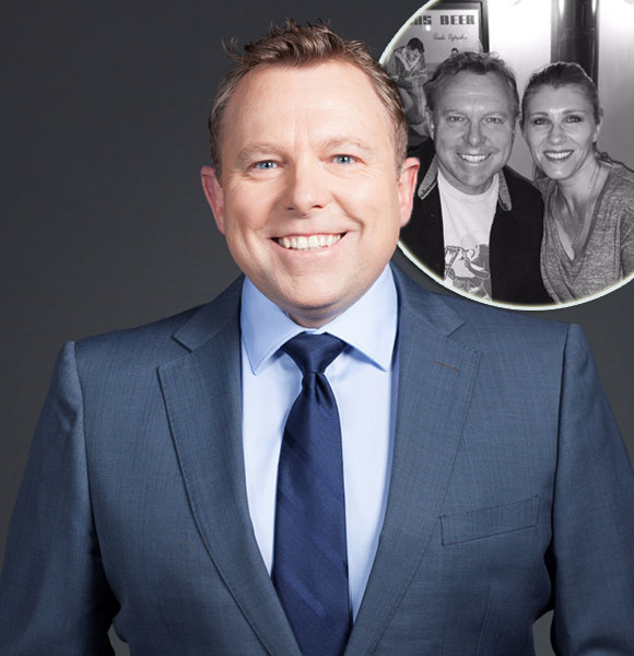 Leigh Diffey Not Gay But Married: Family Details