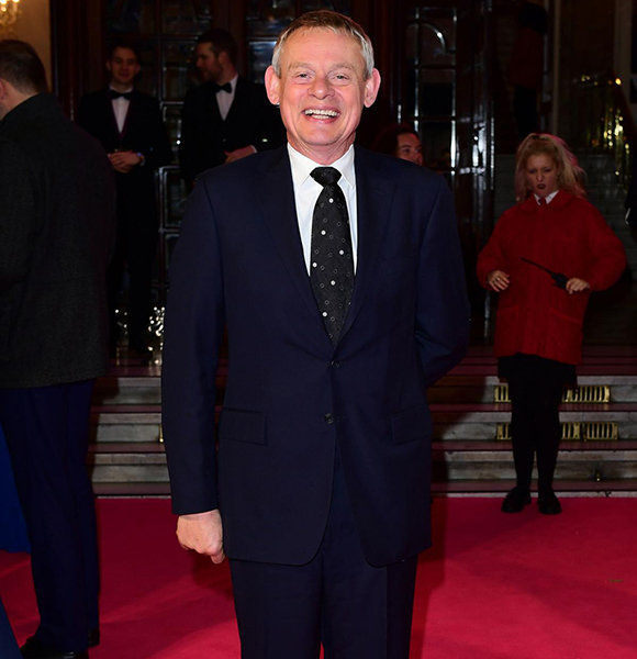 martin clunes talks wife amp loving daughter moments