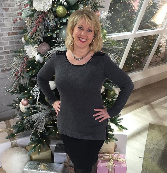 Qvc S Mary Beth Roe Eternal With Husband Daughter Family Status