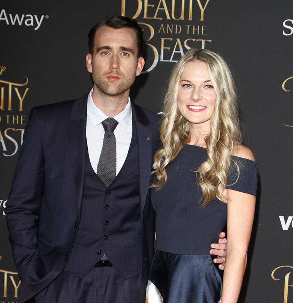 Matthew Lewis Not Gay! Romantically Engaged To Girlfriend