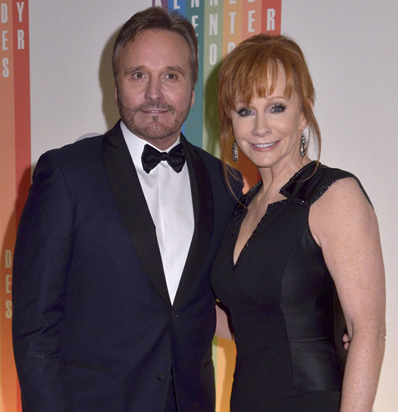 Narvel blackstock divorce story with wife wrecked married for Who is reba mcentire married to now