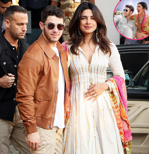 Nick Jonas & Priyanka Chopra Unite Culture In Stunning Interracial Wedding