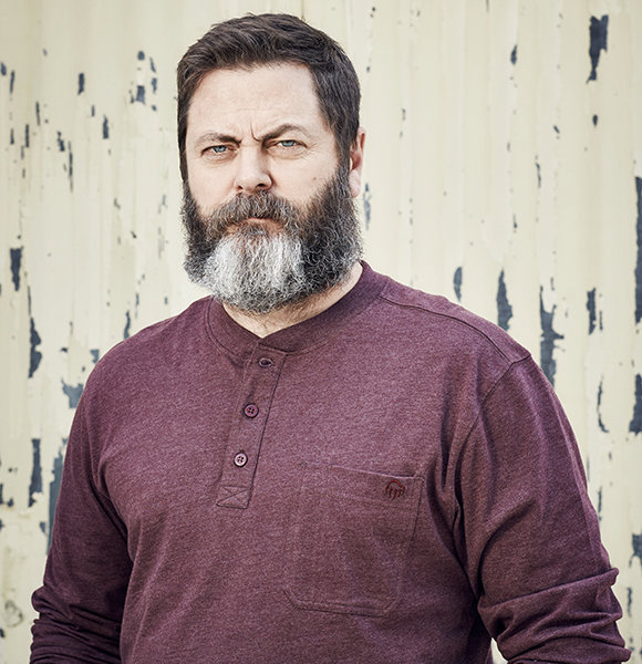 Nick Offerman & Wife Mullally, Power Couple's Alternative For Actual Kids
