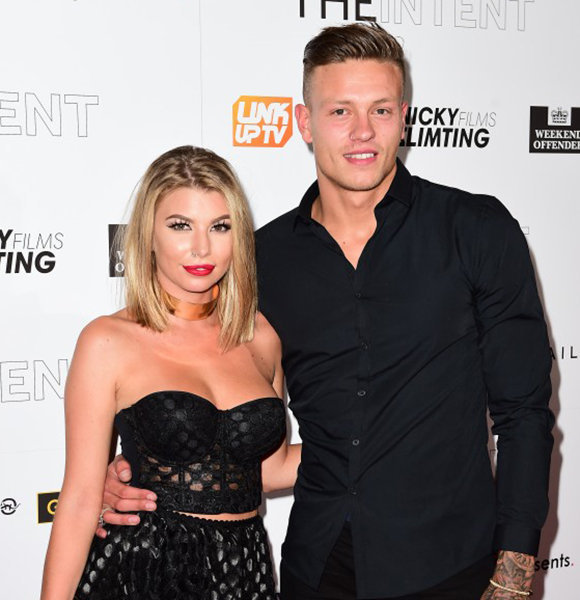 Olivia Buckland & Husband-To-Be Official Before Wedding; Already A Family
