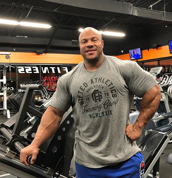 Phil Heath Found Perfect Girlfriend After Divorce At Age 38, Now Wife!