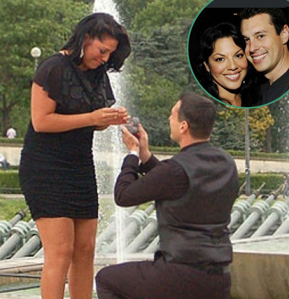 Ryan DeBolt Married, Wedding, Sara Ramirez