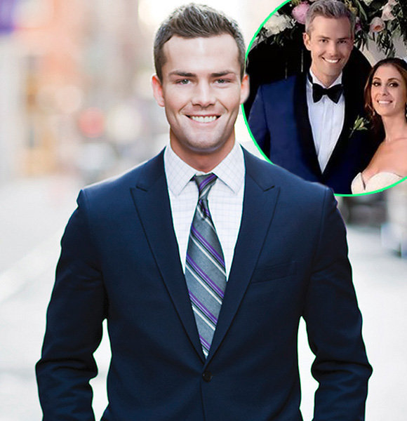 'First Sight' Gay To Wife, Ryan Serhant Relishing Massive Net Worth After Wedding