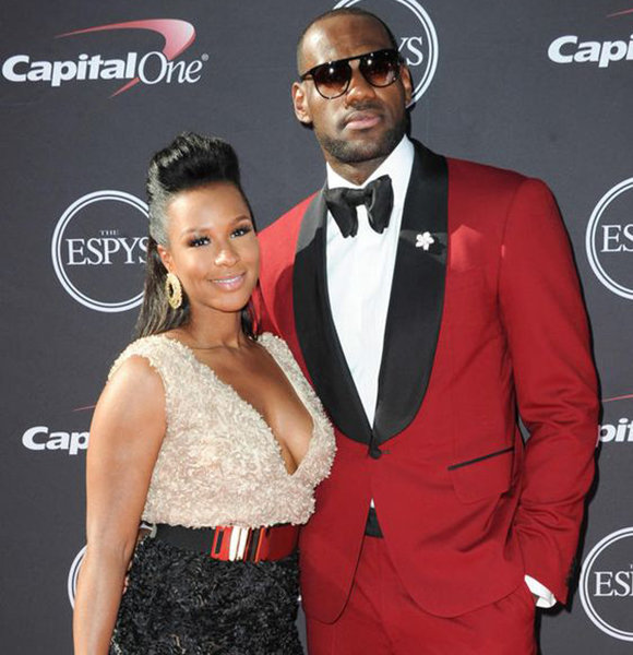 a340a0188c4 Savannah Brinson Wiki  Lavishly Magical Wedding With LeBron To Height