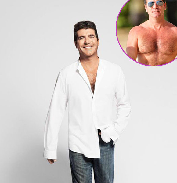 Simon Cowell With His New Look & Remarkable Weight Loss