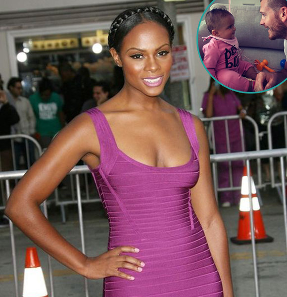 Tika Sumpter First Baby Love; Baby Father & Husband To Be An Actor?