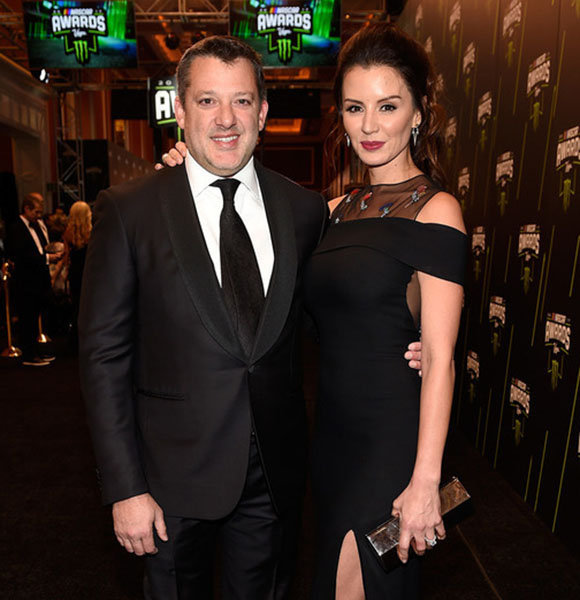 Tony Stewart Girlfriend Escalate Engaged Getting Married Now