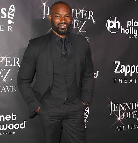 Tyson Beckford Fans Say He Married Girlfriend But Kim Hints He's Gay