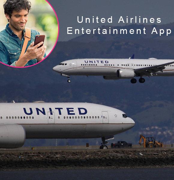 United Airlines Entertainment App